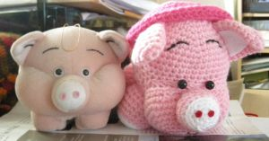Piggy and Pigglet